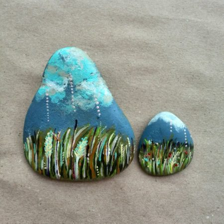 Louka – malované kameny (set)