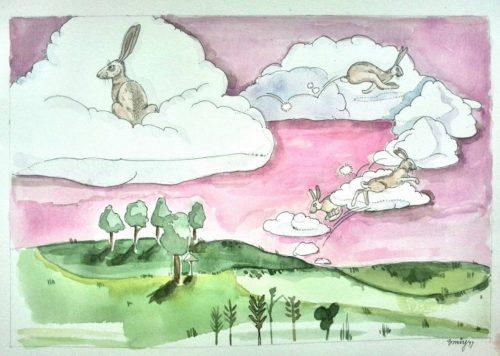 Příběh o zajících z nebes