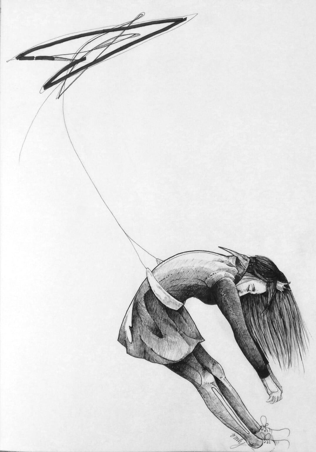 Miriam Hernandez Princezna A Drak Projekt Ilustrace